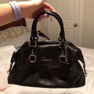 Authentic coach outlet black handbag